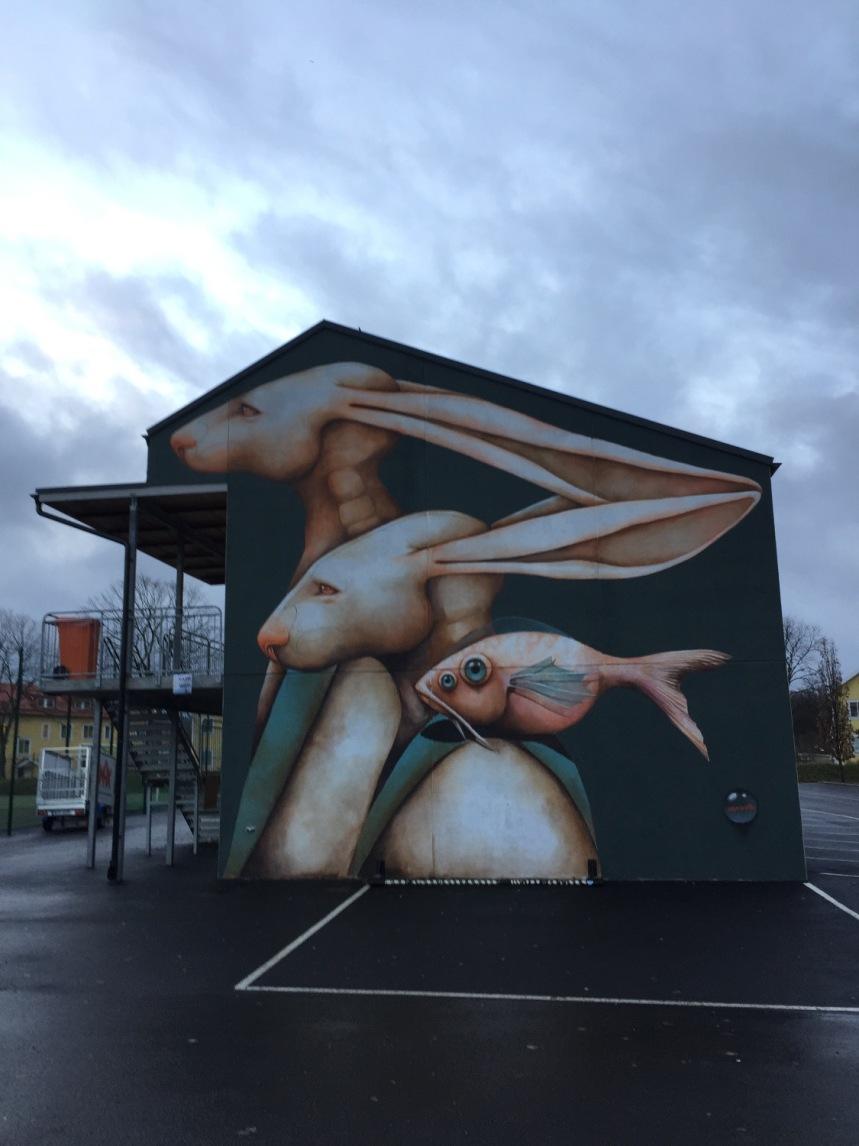 Härlanda, En del av ett konstprojekt i Göteborg stad